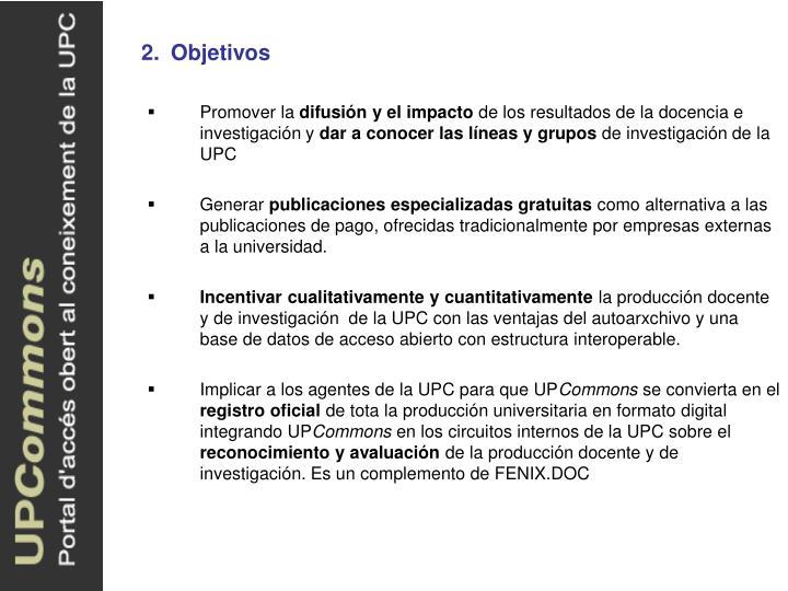2.Objetivos