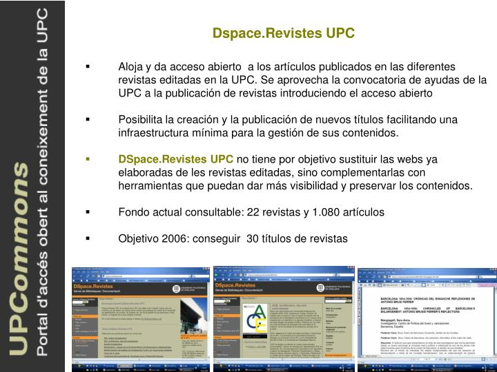 Dspace.Revistes UPC