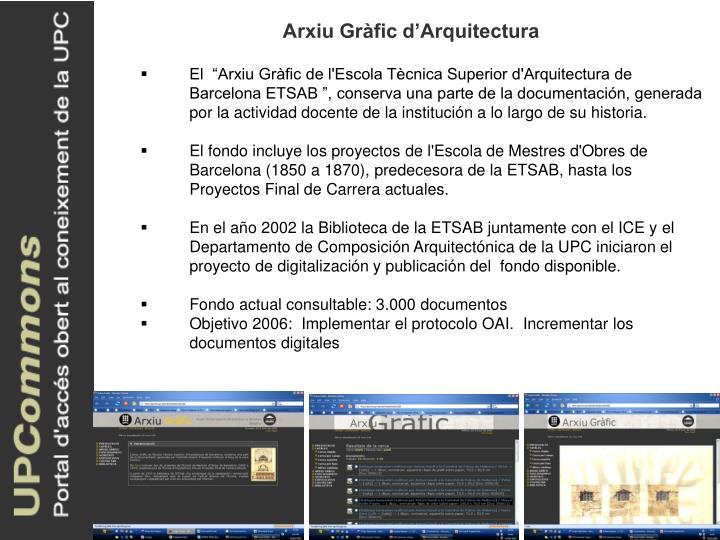 Arxiu Gràfic d'Arquitectura