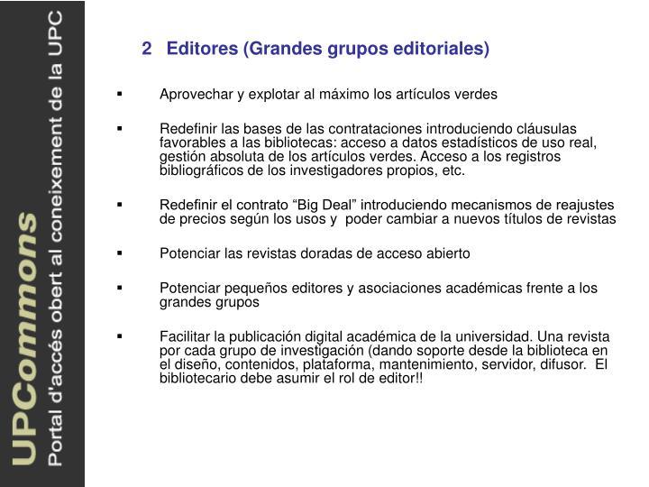 2Editores (Grandes grupos editoriales)