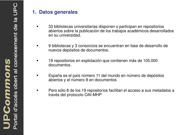 1.Datos generales