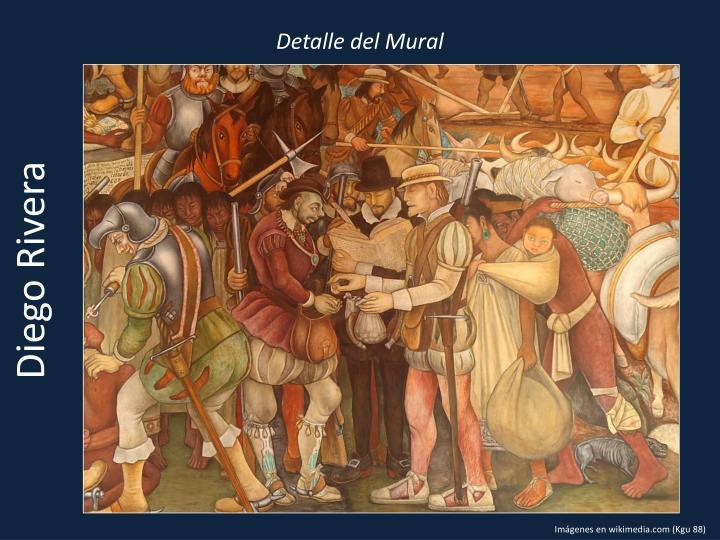 Detalle del Mural