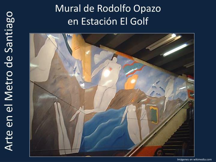 Mural de Rodolfo Opazo