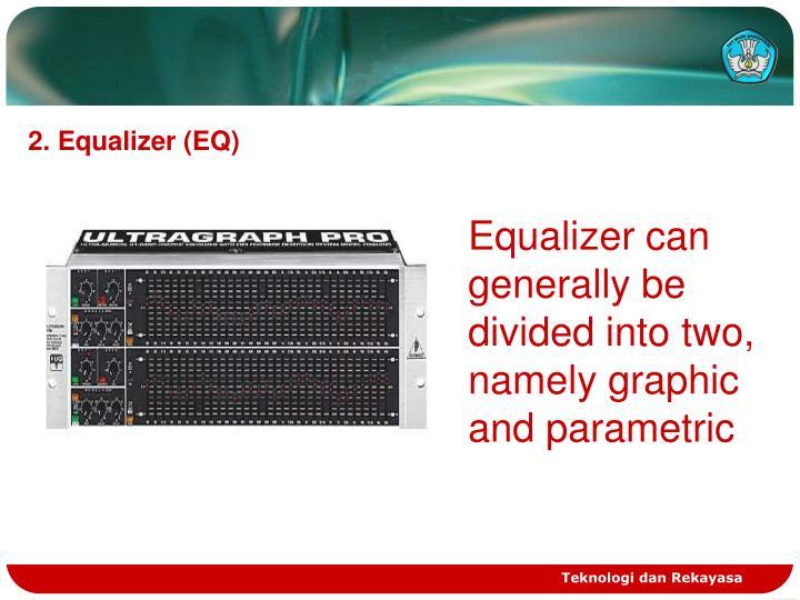 2. Equalizer (EQ)