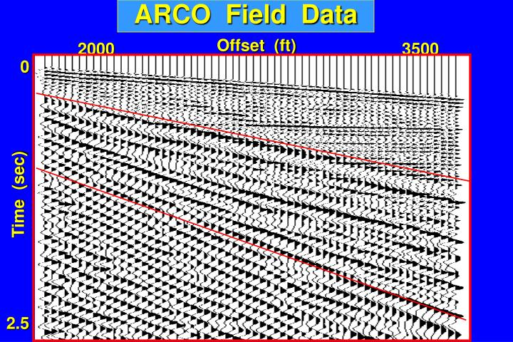 ARCO  Field  Data