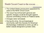 ninth circuit court to the rescue