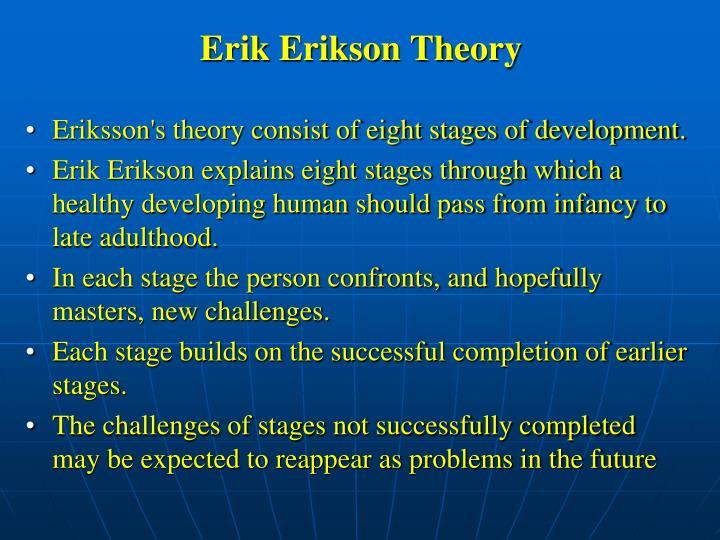 Erik Erikson Theory