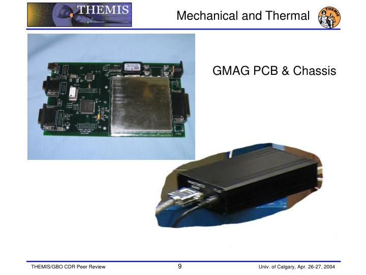 Mechanical and Thermal