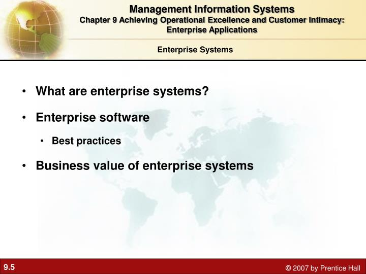 how do enterprise systems help businesses achieve operational excellence define an enterprise system Achieving operational excellence and customer intimacy: enterprise applications enterprise systems, also known as enterpirse resource planning supply chain software is classified as either software to help businesses plan their supply chains (supply chain planning) or software to help.