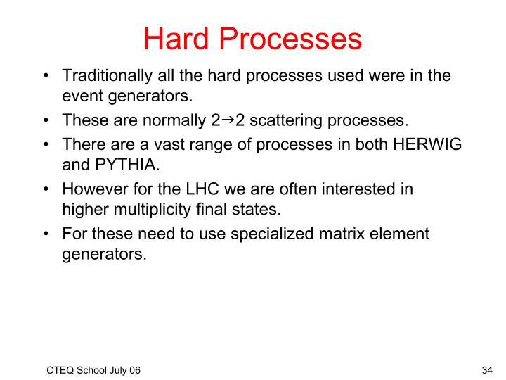 Hard Processes