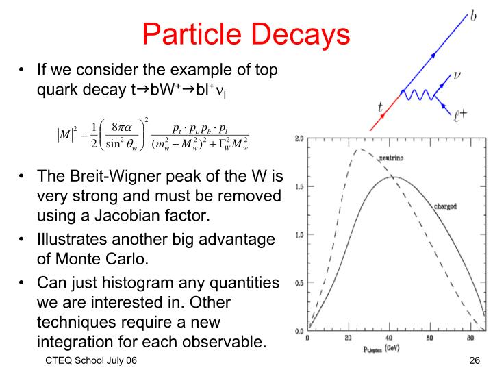 Particle Decays