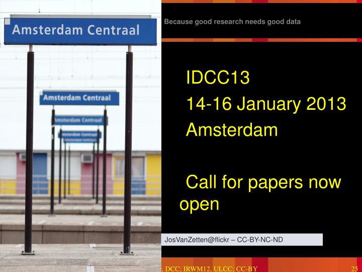 IDCC13