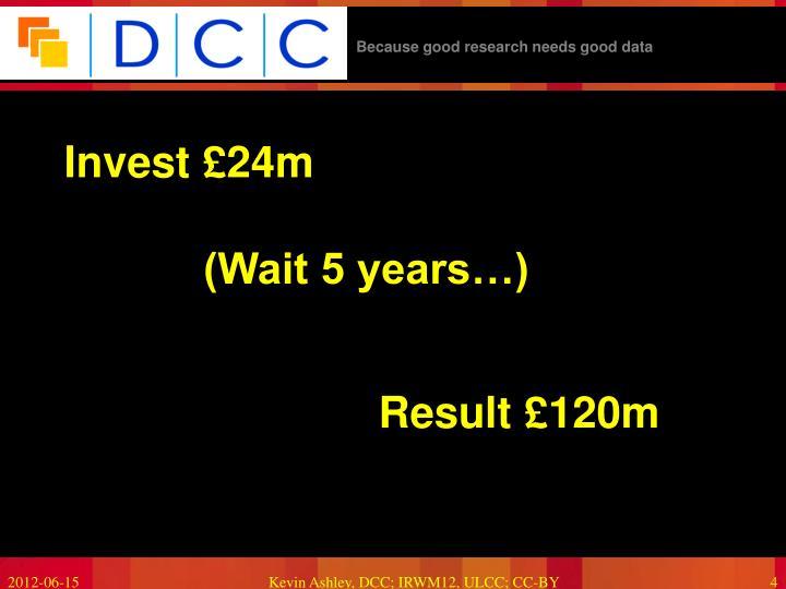 Invest £24m