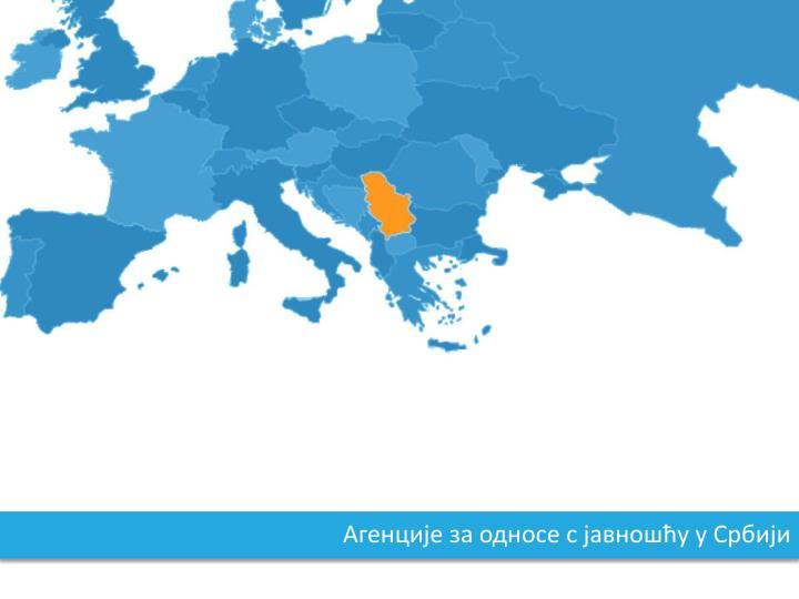 Агенције за односе с јавношћу у Србији