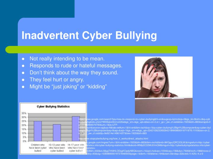 an analysis of cyber bullying in a Cyber bullying affects people from any age or walk of life, including children, teens and adults who all feel very distressed and alone when being bullied online many children feel unable to confide in an adult because they feel ashamed and wonder whether they will be judged, told to ignore it or close.
