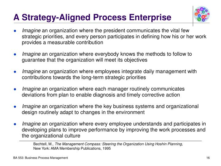 A Strategy-Aligned Process Enterprise