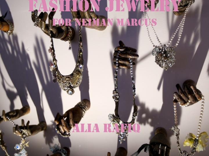 fashion jewelry for neiman marcus n.