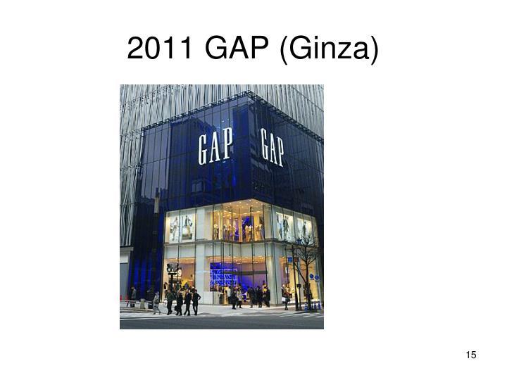 2011 GAP (Ginza)