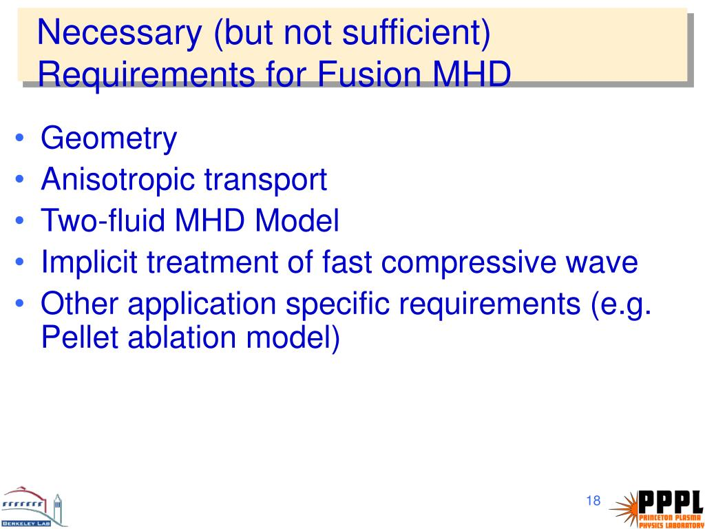 PPT - Adaptive Mesh Refinement MHD for Magnetic Fusion