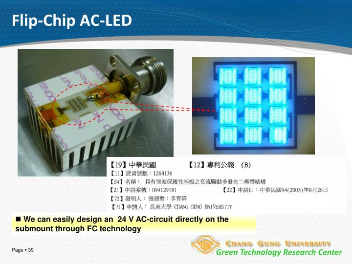 Flip-Chip AC-LED