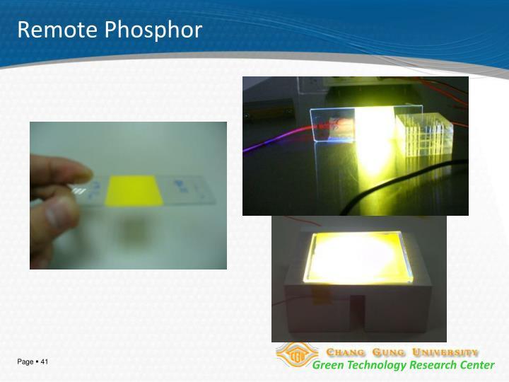 Remote Phosphor