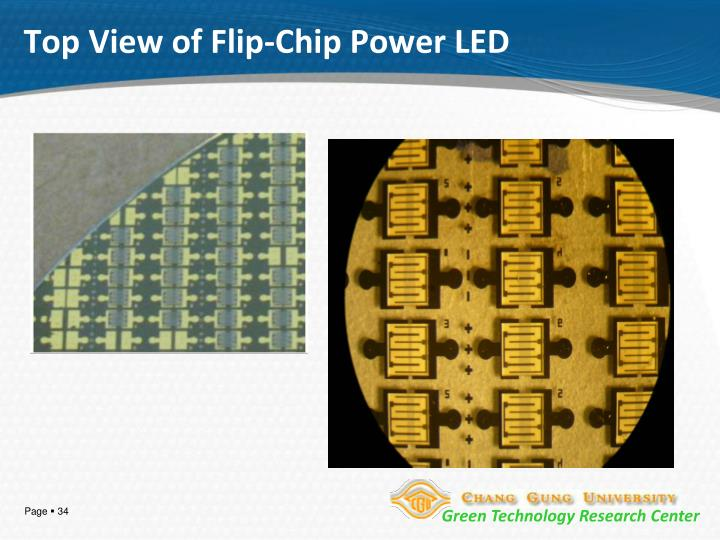 Top View of Flip-Chip Power LED
