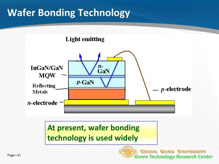Wafer Bonding Technology