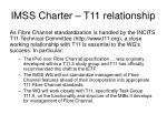 imss charter t11 relationship
