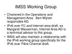 imss working group