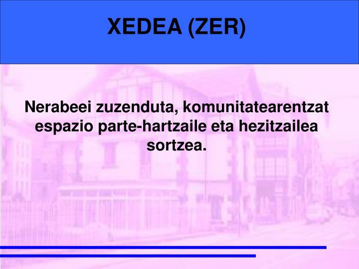 XEDEA (ZER)