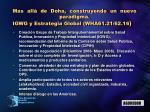 mas all de doha construyendo un nuevo paradigma igwg y estrategia global wha61 21 62 16