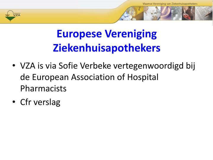 Europese Vereniging Ziekenhuisapothekers