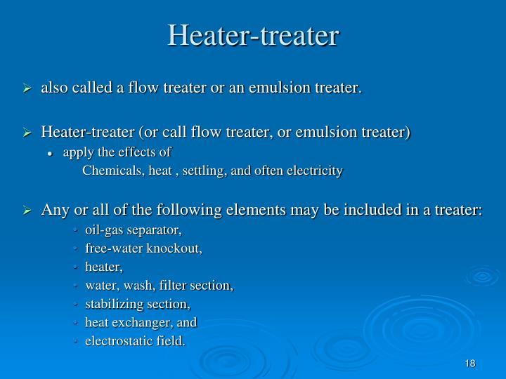 Heater-treater