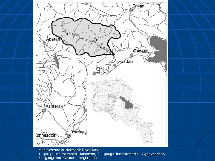 Map-Scheme of Marmarik River Basin