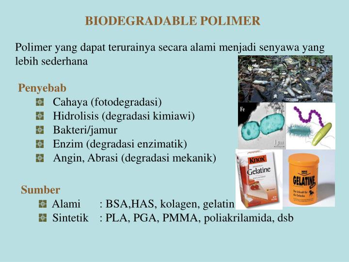 BIODEGRADABLE POLIMER