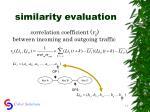 similarity evaluation