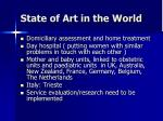 state of art in the world