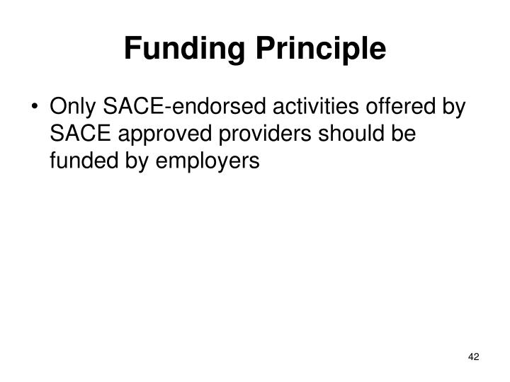 Funding Principle