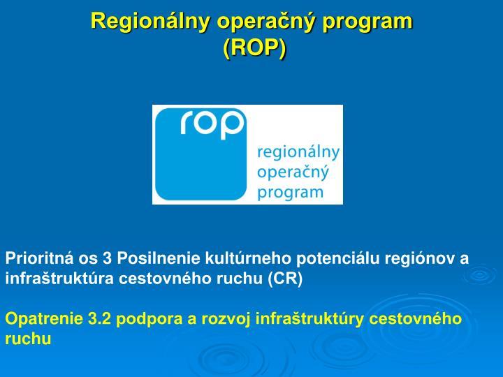 Region lny opera n program rop