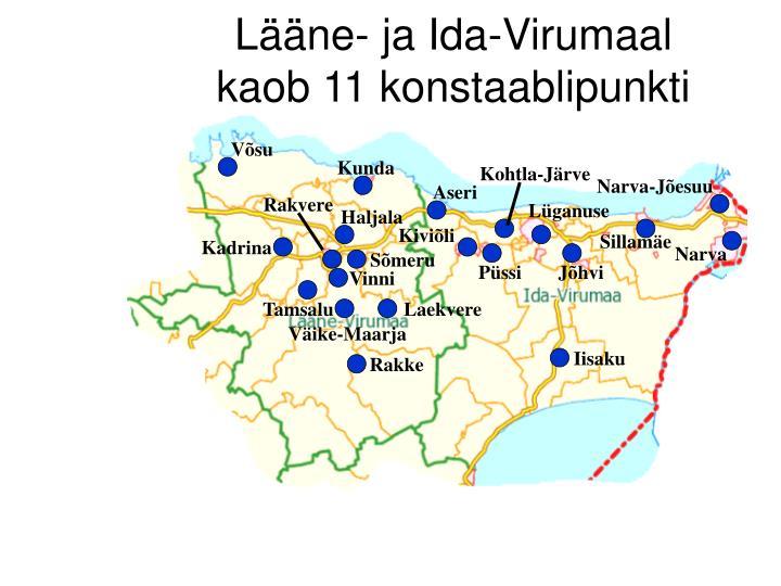 Lääne- ja Ida-Virumaal