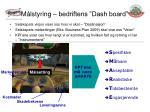m lstyring bedriftens dash board