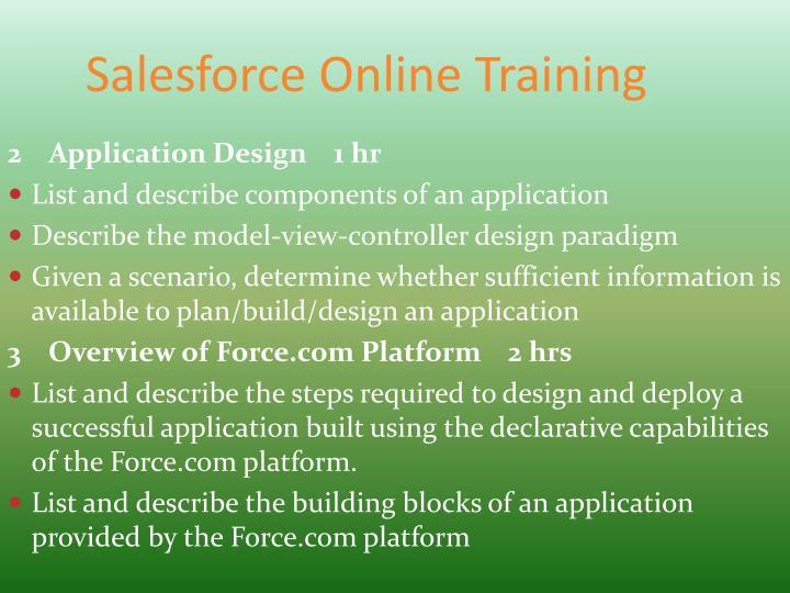 Salesforce online training1