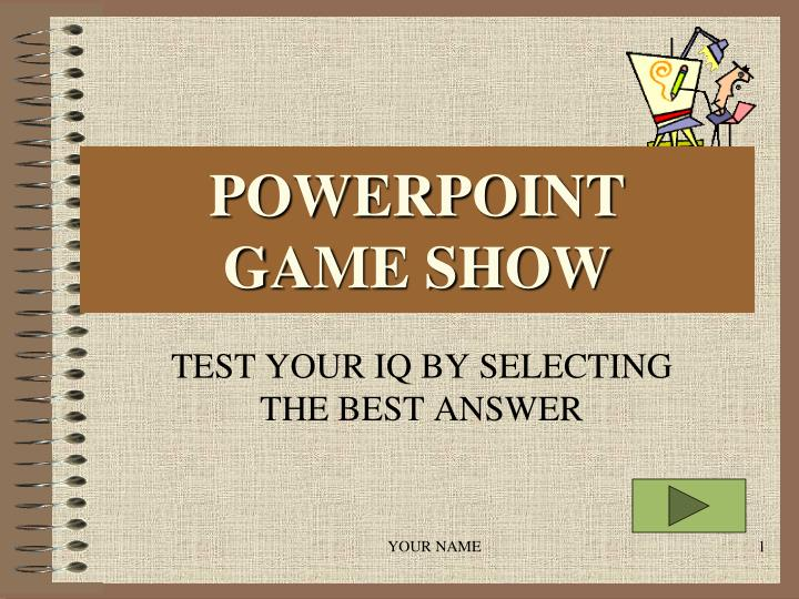 powerpoint game show n.