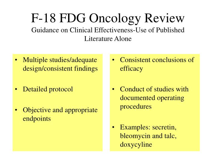 Multiple studies/adequate design/consistent findings