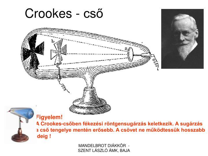 Crookes - cső