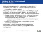 customer b cell tower backhaul operator challenges