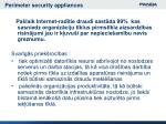 perimeter security appliances1