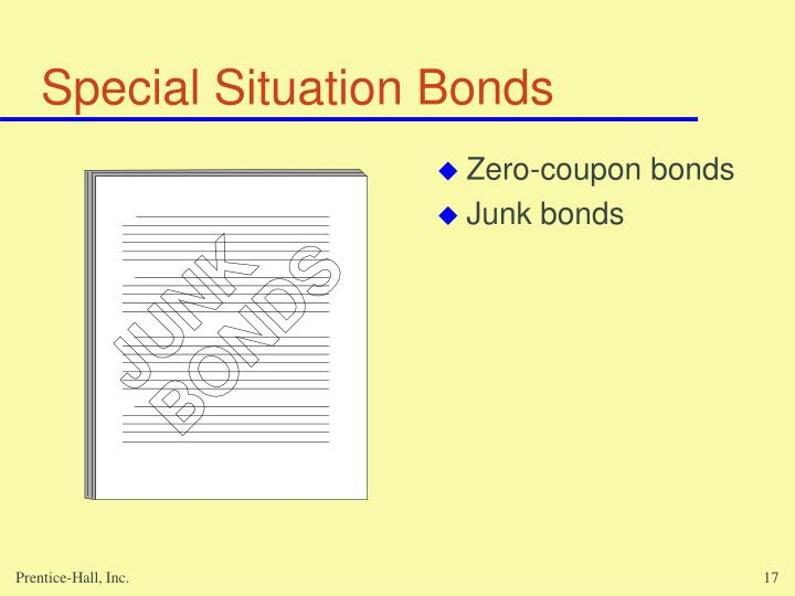Special Situation Bonds