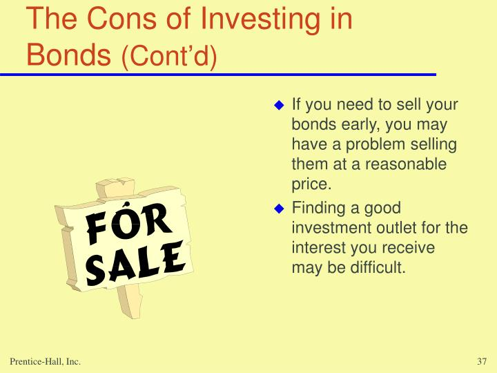 The Cons of Investing in Bonds