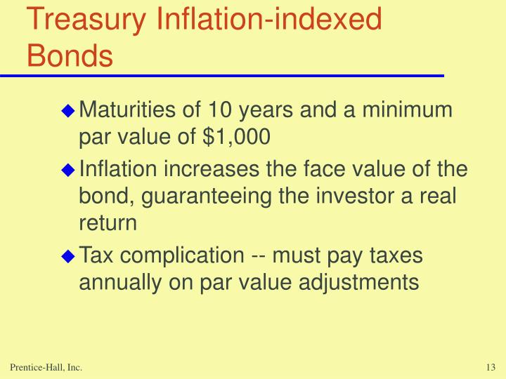 Treasury Inflation-indexed Bonds